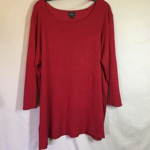 Worthington Woman Red Sweater.